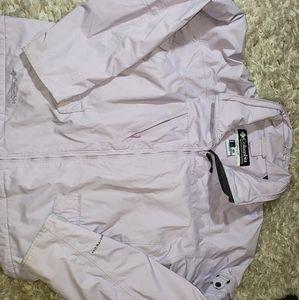 Lavender columbia coat